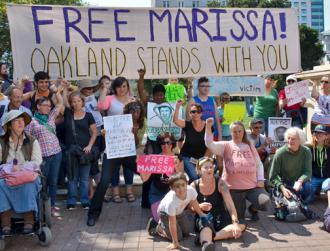 A solidarity demonstration for Marissa Alexander in the Bay Area (Steve Rhodes)