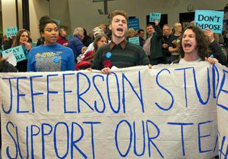 Portland students send a loud-and-clear message in support of teachers (Bette Lee)