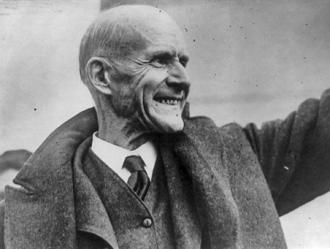 Eugene V. Debs' militant anti-racism was in contrast to other U.S. Socialist Party leaders