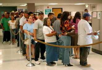 Long-term unemployment has broken all previous record levels (Michael Raphael)