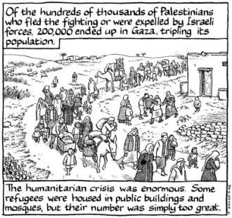 palestine by joe sacco a book review
