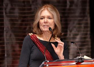 Gloria Steinem (Ms. Foundation for Women)