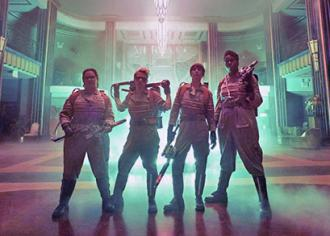 The new Ghostbusters
