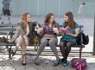 Characters from the HBO show Girls