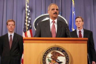 Eric Holder discusses the alleged terror plot connected to Iran at a press conference