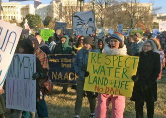 Standing up for Standing Rock in Washington, D.C. (Leonard Klein | SW)
