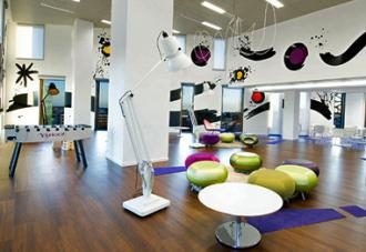 Inside Yahoo's corporate offices