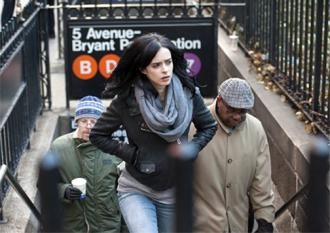 Krysten Ritter stars as Jessica Jones