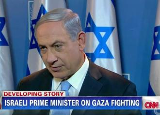 Benjamin Netanyahu appears on CNN