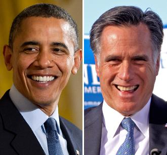 Barack Obama and Mitt Romney