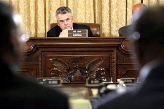 Rep. Peter King chairs a witch-hunt hearing into so-called Muslim extremism