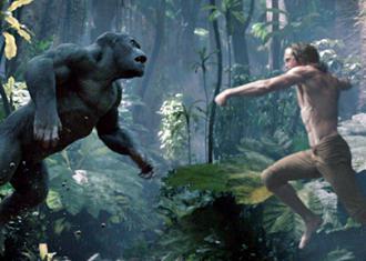 Tarzan leaps into action