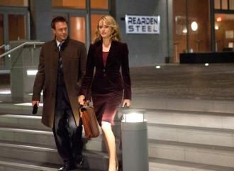 Taylor Schilling and Grant Bowler in Atlas Shrugged