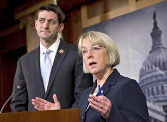 Sen. Patty Murray and Rep. Paul Ryan discuss the budget deal they negotiated