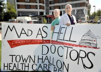 Mad as Hell Doctors are on tour across the county, making their way to Washington, D.C.