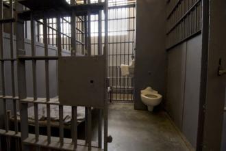A cell inside a U.S. prison