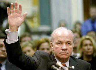 Enron CEO Kenneth Lay testifies before Congress