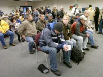 Waiting for unemployment - Michigan unemployment office ...