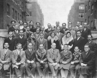 Some of the founders of the United Workers Cooperative Colony in 1926