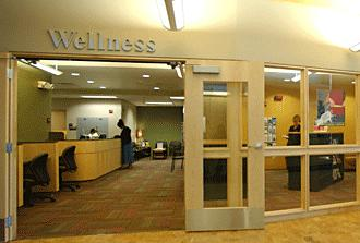 A health clinic at Southern Illinois University