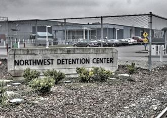 The Northwest Detention Center in Tacoma, Wash.