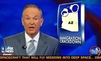 Bill O'Reilly regularly promotes the myth of the immigrant crime wave