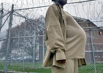 A pregnant woman incarcerated in Indiana