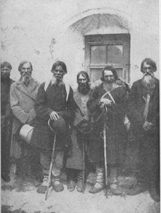 Russian peasants in 1917