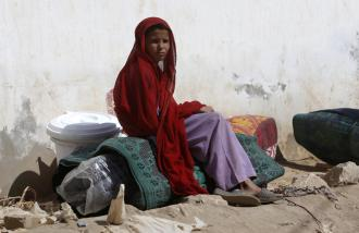 The Pakistani military's offensive, supposedly directed against the Taliban, is again causing a refugee crisis (Akhtar Soomro | Reuters)