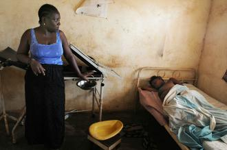 Inside a slum in Sierra Leone, the country at the bottom of the United Nations Human Development Index (Zuma)