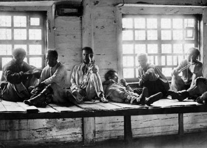 A penal colony in Russia during the reign of the Tsar