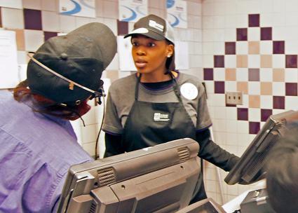 McDonald's workers on the job in Milwaukee (Joe Brusky | flickr)