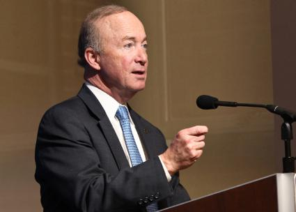 Purdue University President Mitch Daniels (Paul Morigi | flickr)