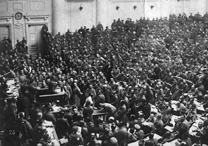 The soviets of the Russian Revolution provided a model of the basic building block of workers' democracy