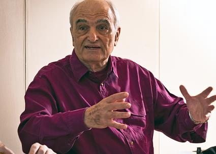 Anti-Zionist author and activist Moshe Machover