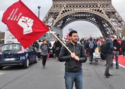 Socialist activist Emin Şakir (Devrimci Sosyalist İşçi Partisi | Facebook)