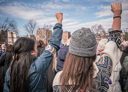 Standing up against sexism at the Women's March in Boston (C.C. Chapman | flickr)