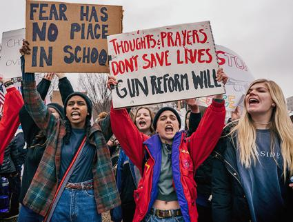 Students rally for gun reform in Washington, D.C. (Lorie Shaull | flickr)