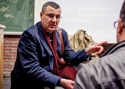 Omar Barghouti (Kevin Van den Panhuyzen | BDS Campaign Brussels)