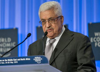 PA President Mahmoud Abbas (Benedikt von Loebell)