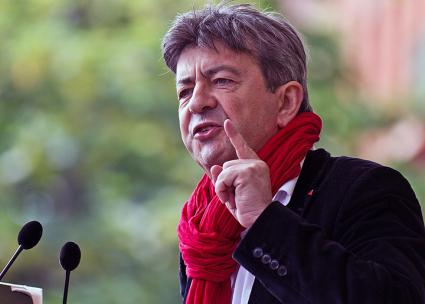 French presidential candidate Jean-Luc Mélenchon (Pierre-Selim | flickr)