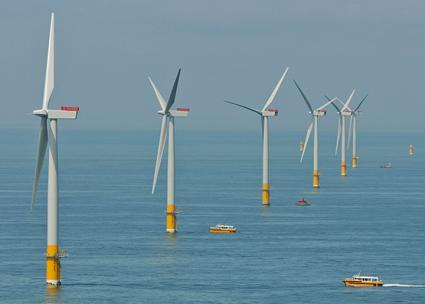 Greater Gabbard Offshore Wind Farm (flickr)