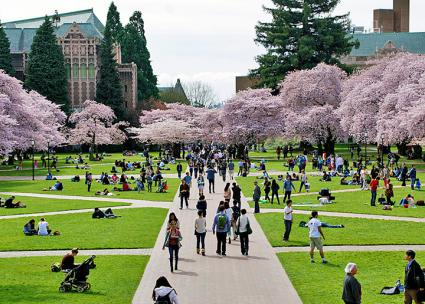 A new semester begins at the University of Washington