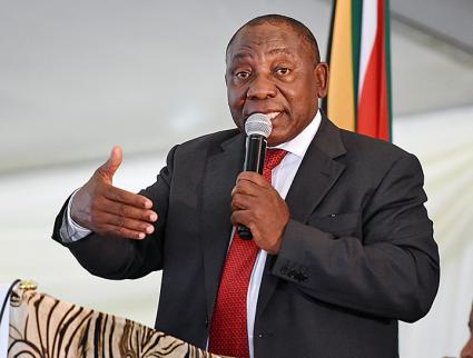 South African President Cyril Ramaphosa (GCIS | flickr)