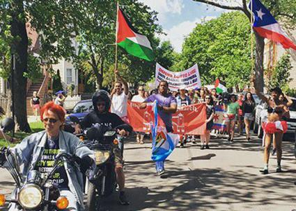 Taking to the streets in Chicago for LGBTQ justice (Chicago Dyke March Collective)