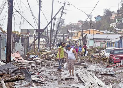 The island nation of Dominica was devastated by Hurricane Maria (Roosevelt Skerrit | Wikimedia Commons)