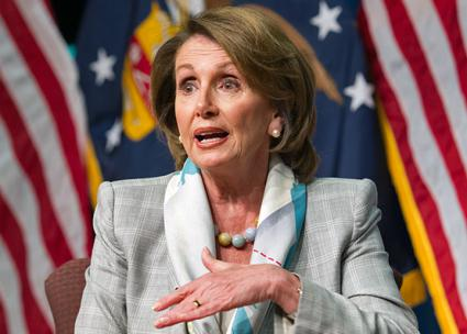 House Minority Leader Nancy Pelosi (Wikimedia Commons)
