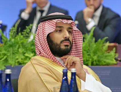 Saudi Crown Prince Mohammad Bin Salman  (Wikimedia Commons)