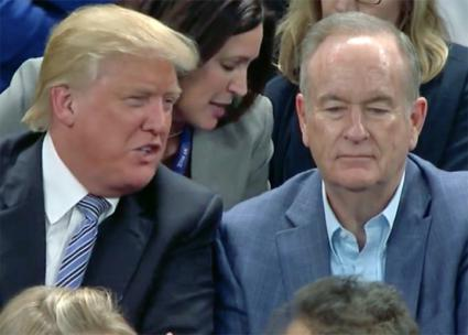 Donald Trump and Bill O'Reilly