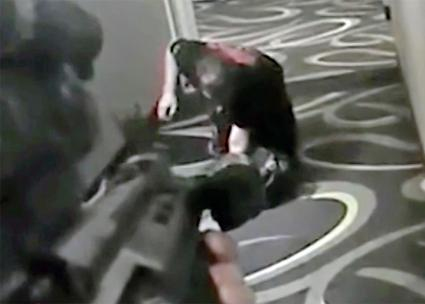 Police in Arizona murdered a man in a hotel hallway as he crawled on his knees